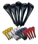 Club Glove Head Covers for Woods, Hybrids, Fairway Clubs