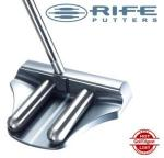 Guerin Rife Putter | Mallet 2 Bar Grooved Custom Weight | Jim McLean DVD