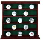 Deluxe Golf Ball Display Case | Rosewood Cabinet Storage 25