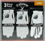 Callaway Golf Glove Set | Tour Leather Cabretta Technical Performance