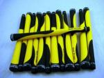 Golf Pride DD2 Hand Grips | Dual Durometer 13 Black & Yellow