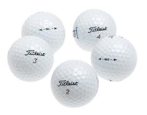 Titleist NXT Golf Ball Set