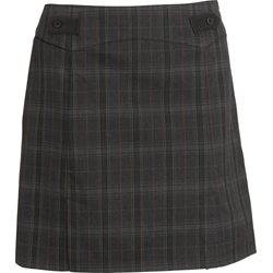 Tehama Womens Skort Gray Plaid