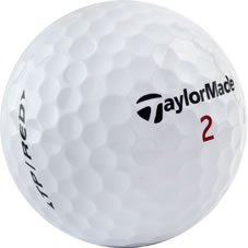 TaylorMade TP Red Golf Balls