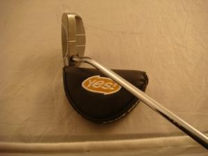 Yes! Golf Marilyn Mallet Putter