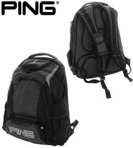 Ping Black Backpack