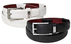 Tiger Woods Men's Belt in Black, White