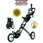 Cadie Ultimaxx Golf Push Cart | Black Portable MASH Caddie U-4 GT