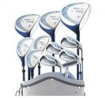 Tour Edge Lady Edge Full Club Set | Womens Golf Clubs w/ Cart Bag