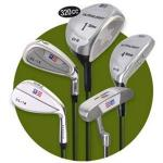 US Kids Junior Golf Club Set, Ultralight Green   Includes Carry Stand Bag