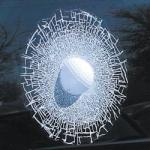 Golf Ball Shatter Window Decal | Sports Gag Gifts