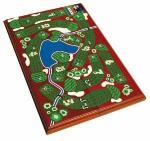 Golf Cribbage Set by Tee Time | Travel Board Game Magnetic