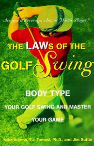LAWs of the Golf Swing Hardcover Book