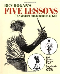 Ben Hogan Golf Lessons Book, Hardcover