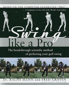 Swing Like a Pro, Hardcover Golf Book