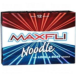High Handicap Golf Balls, Maxfli Noodle