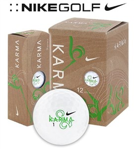 Nike Golf Balls, Recycled Karma Green