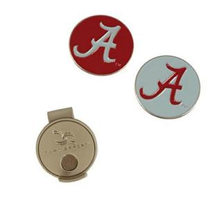 Alabama Crimson Tide Hat Clip, Ball