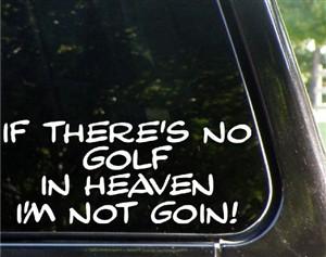 Golf Funny Bumper Stickers, Gift Ideas
