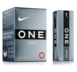 Nike One Golf Ball, Vapor Urethane