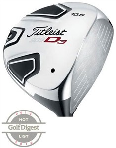 Titleist Men's Driver Golf Club, 909 D3