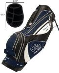 Club Glove Golf Stand Bag, Aficionado IV | Ergonomic Back & Shoulder Support