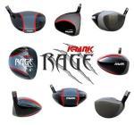 Rage Golf Mens Driver Club by Krank, Award Winning   Fujikura Diesel Shaft