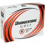 Bridgestone Distance Golf Balls e7+ | Hard Surlyn Cover for Low Flight