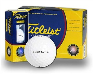 Titleist Tour Golf Balls NXT for