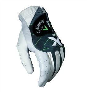 Callaway White Leather Golf Gloves, X