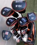 Men's Senior Golf Club Set of 18, Right Handed RH | Slow Swing Speed 460cc Driver by Square Technology