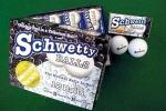 Schwetty Golf Balls, Titanium | Gag Joke Gift Set of 12, USGA Legal