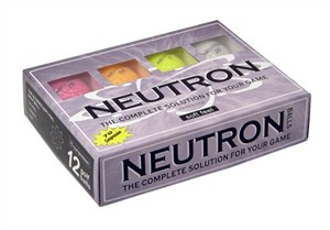 Neutron Golf Balls, Surlyn Neon Colors
