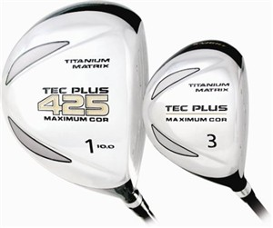 Tec Plus Womens Offset Driver Golf Club