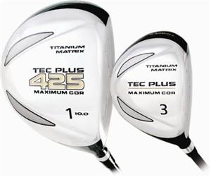 Tec Plus Womens Offset Driver Golf Club