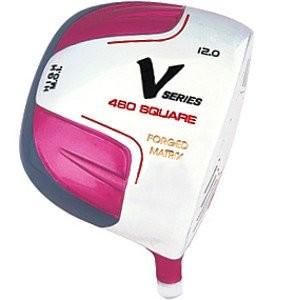 Women's V-Series Pink Golf Driver,