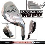 Confidence esp3 Golf Iron Club Set | Women's Hybrid Irons 3-PW For High Launch