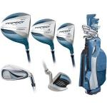 Women's Intech Graphite Aspect Golf Club Set | Right-Handed Cavity Back Combo, Blue XR