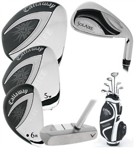 Callaway Womens Solaire Club Set of 9