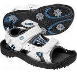 Ladies Footjoy Golf Sandals, Greenjoy | Velcro Shoes w/ Spikes Drift Atomic Blue 48443