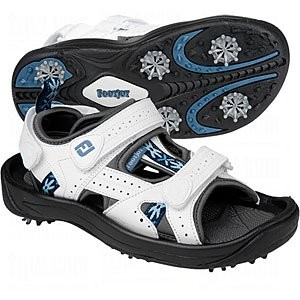Ladies Footjoy Golf Sandals, Greenjoy