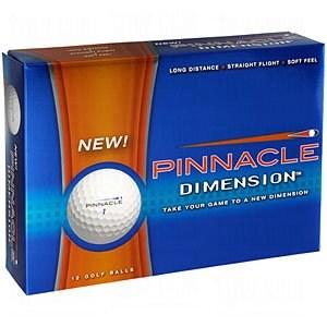 Pinnacle Dimension Golf Balls