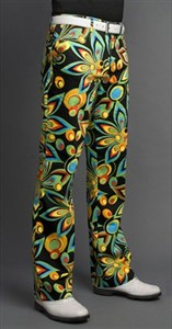 Loudmouth Golf Pants, Shagadelic Black