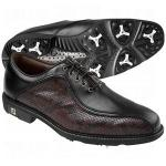 FootJoy Icon Mens Golf Shoes, | Leather Waterproof Memory Foam, Asymmetrical