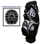 Bennington Quiet Organizer Cart Bag | Club Inserts 12, Men's Golf Carry Plaid Insulated