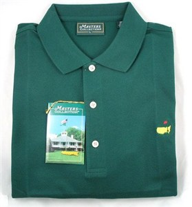 Masters Golf Polo, Green w/ Logo