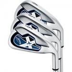 Callaway X-18R Irons Set | Cavity Back Chrome Satin RH 4-PW & SW